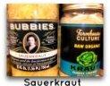 raw sauerkraut for candida albicans