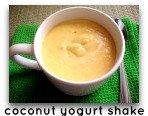 coconut yogurt drink