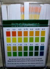 picture of pH test strips