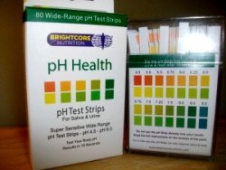 saliva and urine yeast infectiont test strips