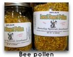 bee pollen to treat candida