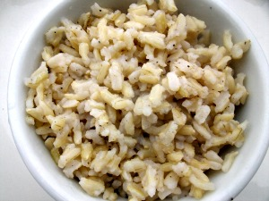 brown rice picture