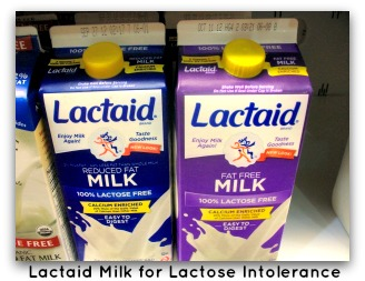 Lactaid Milk for Lactose Intolerance