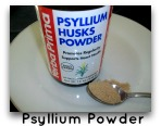psyllium powder for candida cleanse