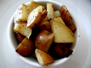 rosemary roasted potatoes picture