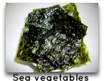 sea vegetables for anti candida diet