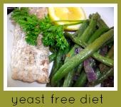 yeast free diet